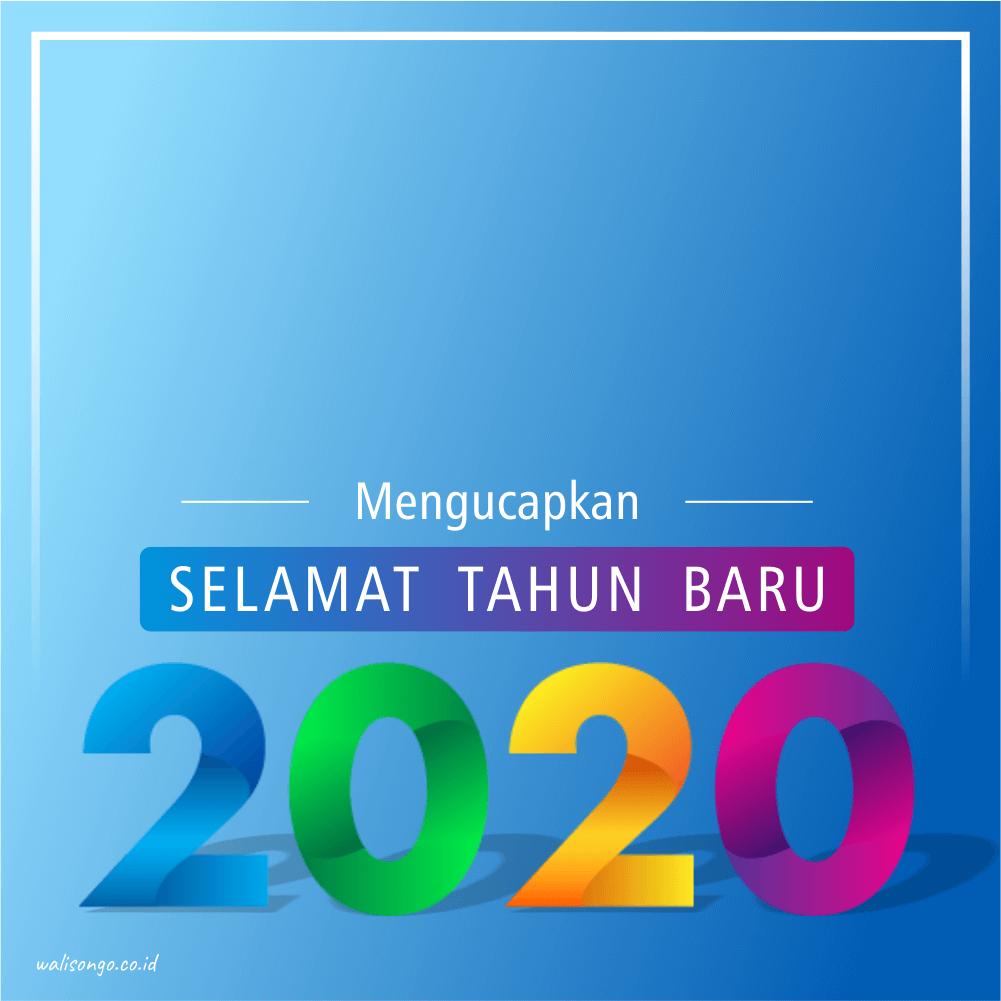 background tahun baru 2020
