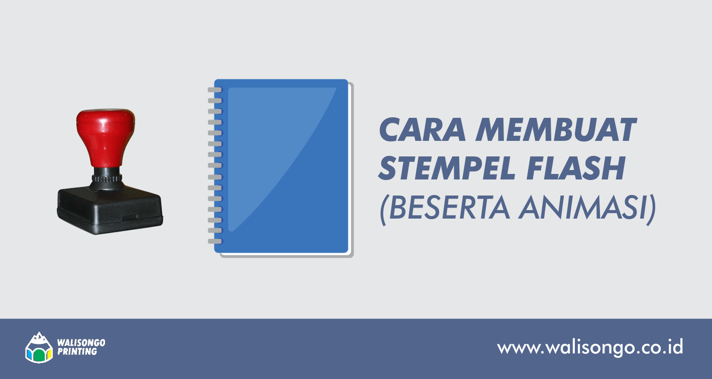 tutorial membuat stempel