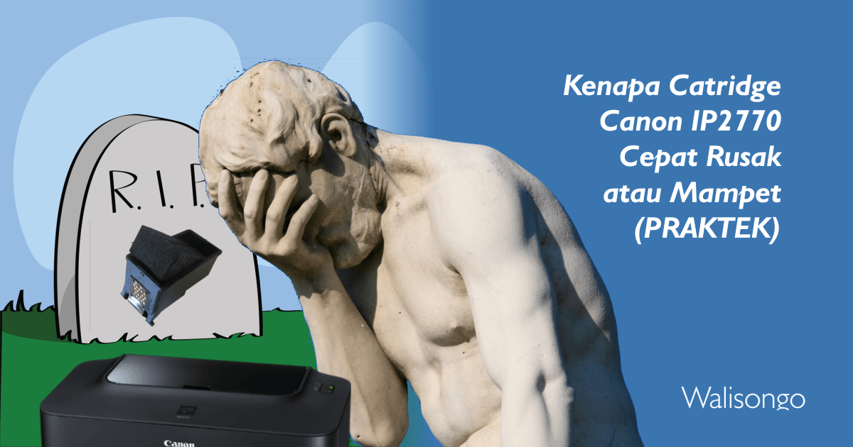 mengatasi catridge printer rusak