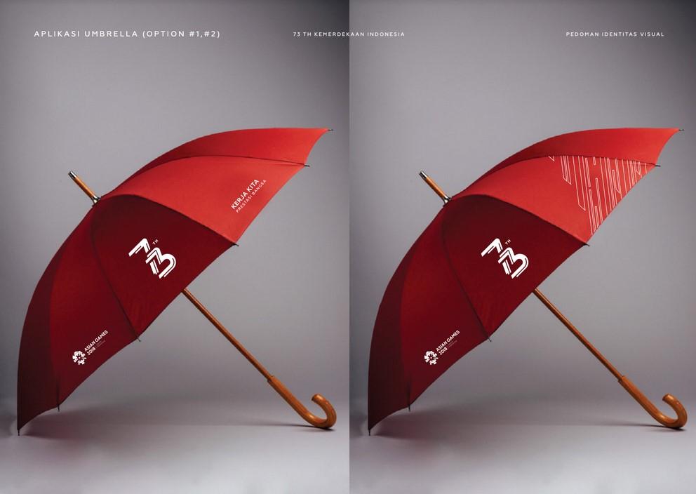 payung logo hut ri 73