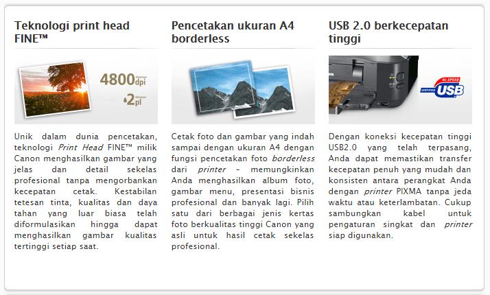 Printer IP2770 Rusak