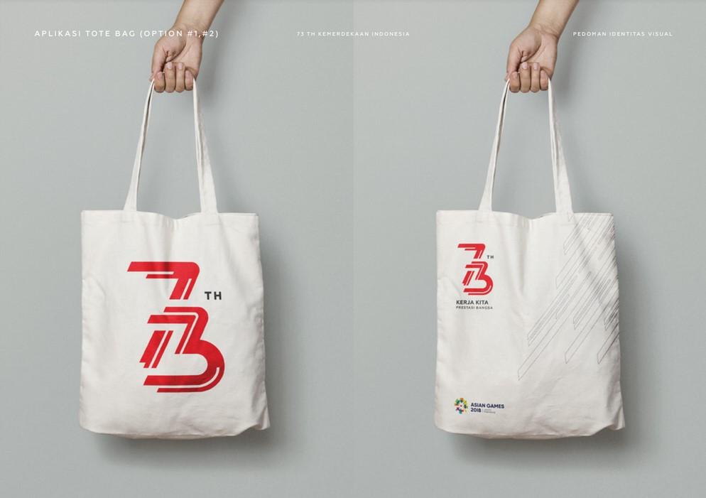 tote bag logo hut ri 73