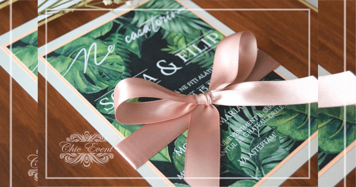 Undangan Pernikahan simpel alam