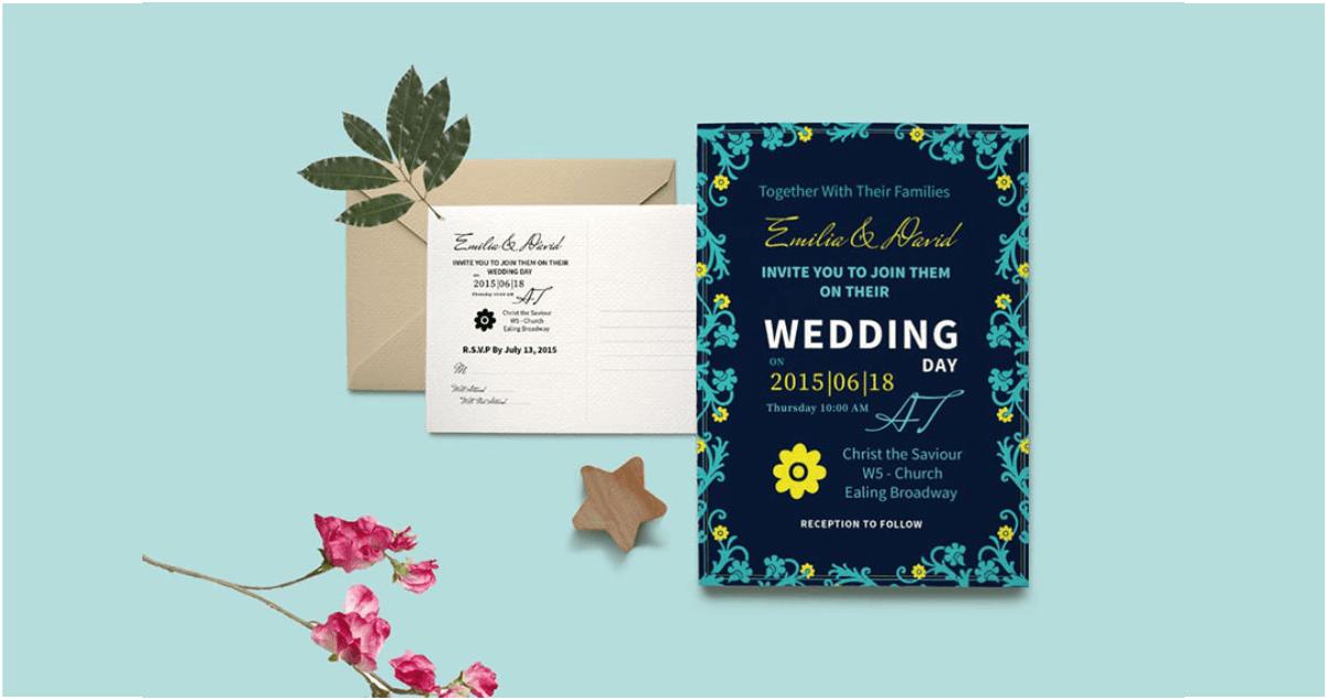 95 desain undangan pernikahan simple elegan unik pilihan netizen 95 desain undangan pernikahan simple