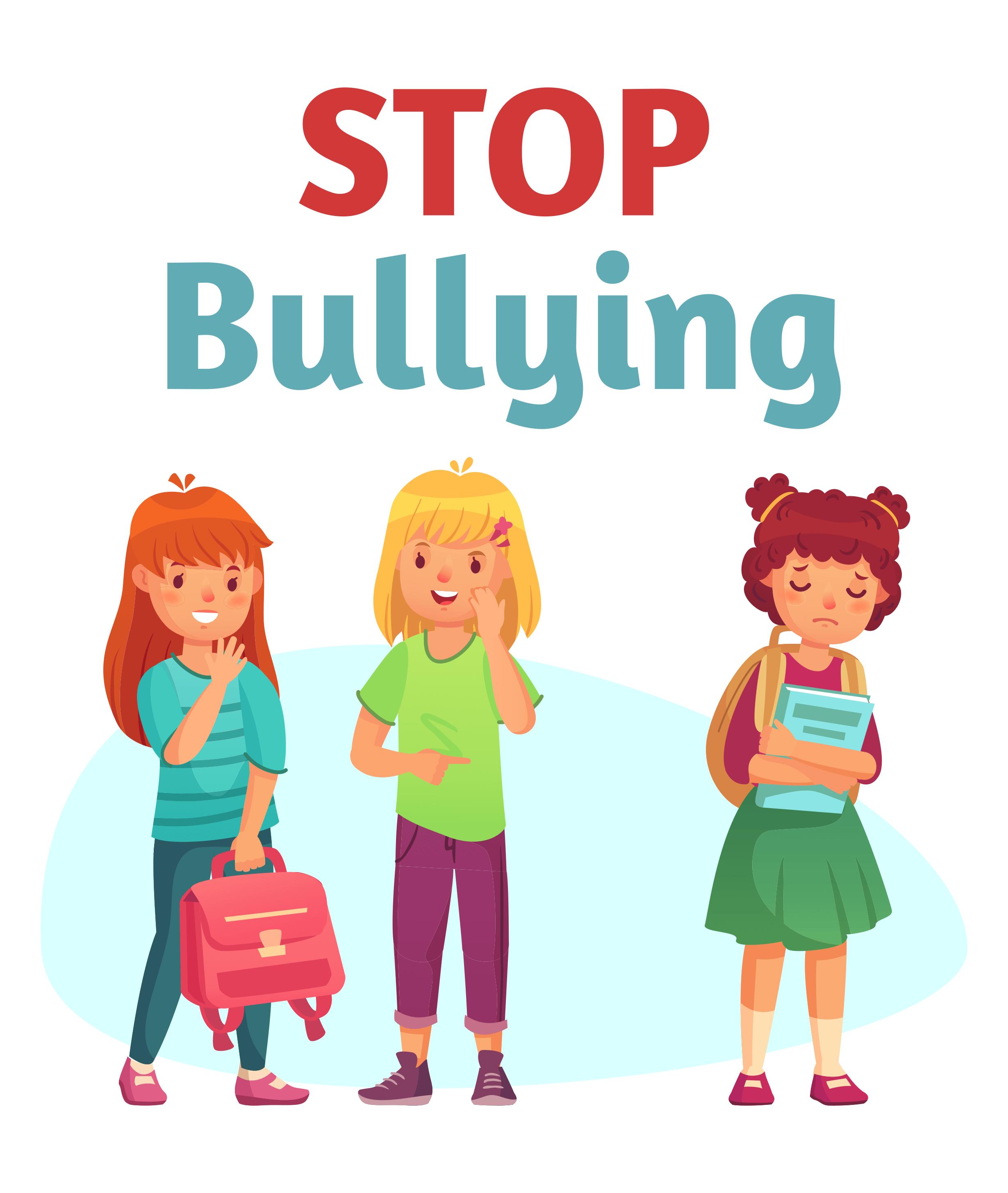contoh poster bullying
