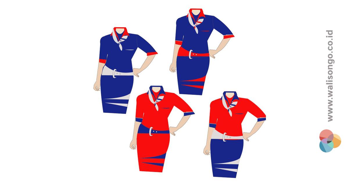 contoh seragam kantor spg