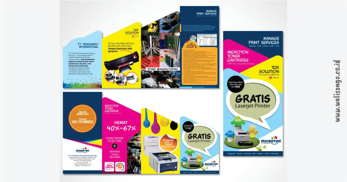 contoh brosur unik