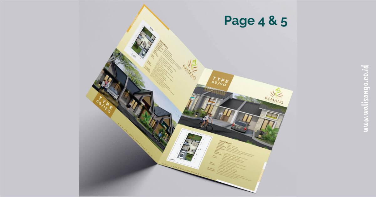 contoh brosur properti keren