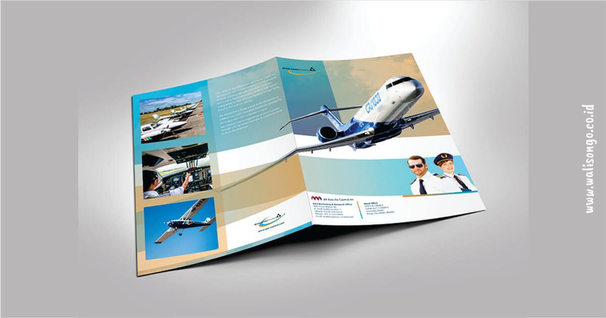 contoh brosur simple keren