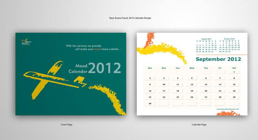 desain kalender perusahaan