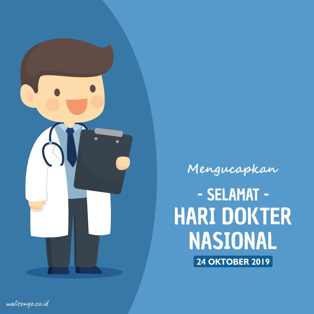 poster hari dokter nasional 2019