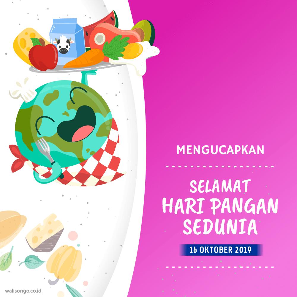 desain poster hari pangan sedunia