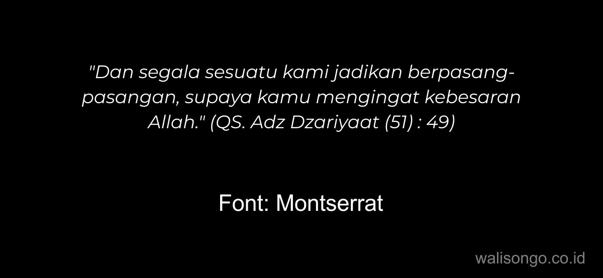 font quotes