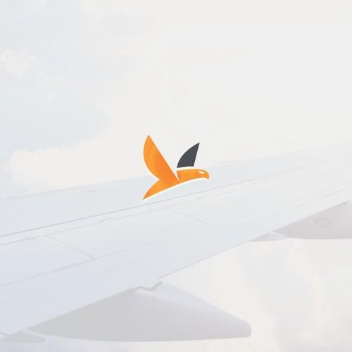 Desain Logo Penerbangan