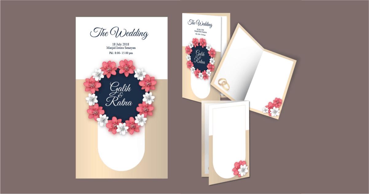 desain undangan nikah