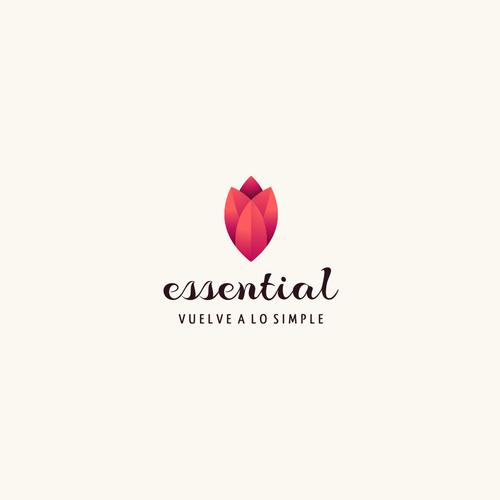 desain logo olshop bunga
