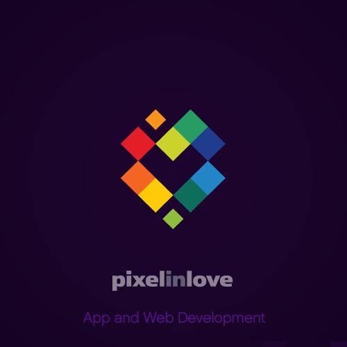 desain logo olshop warna warni