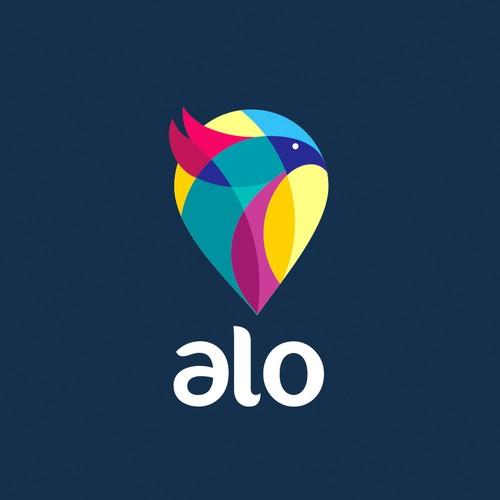 logo keren warna warni