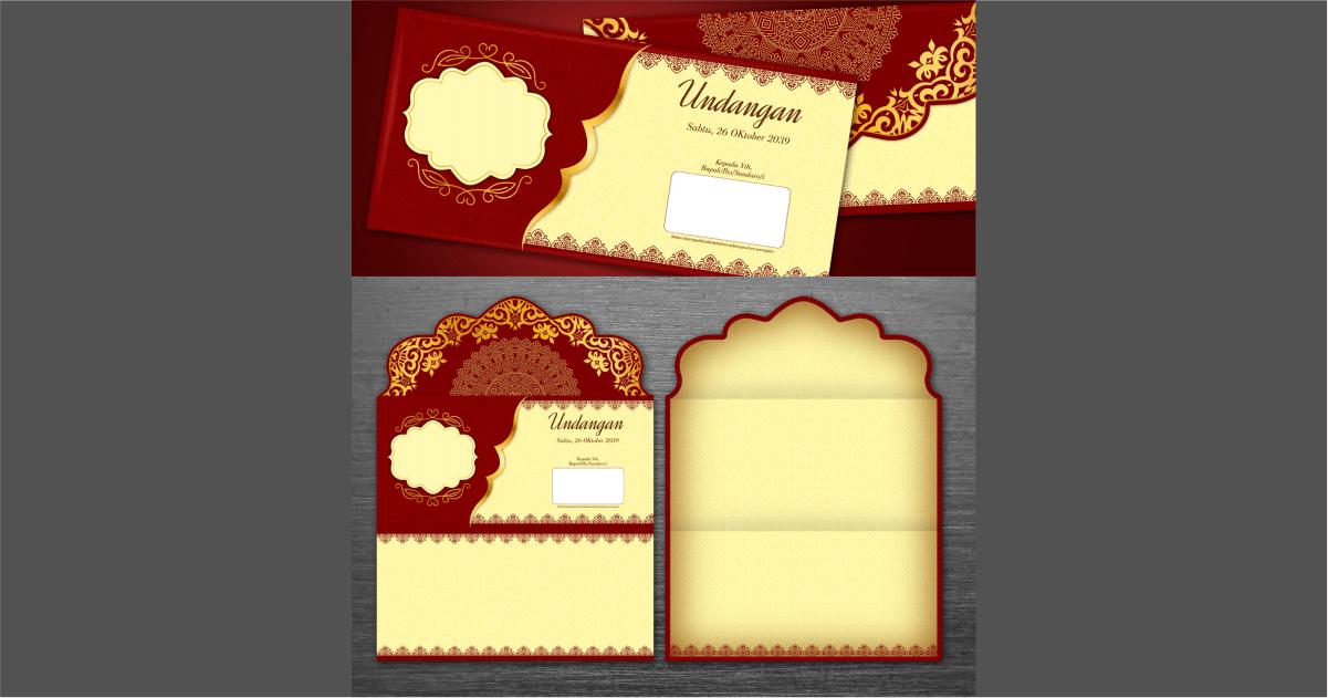 desain undangan pernikahan klasik