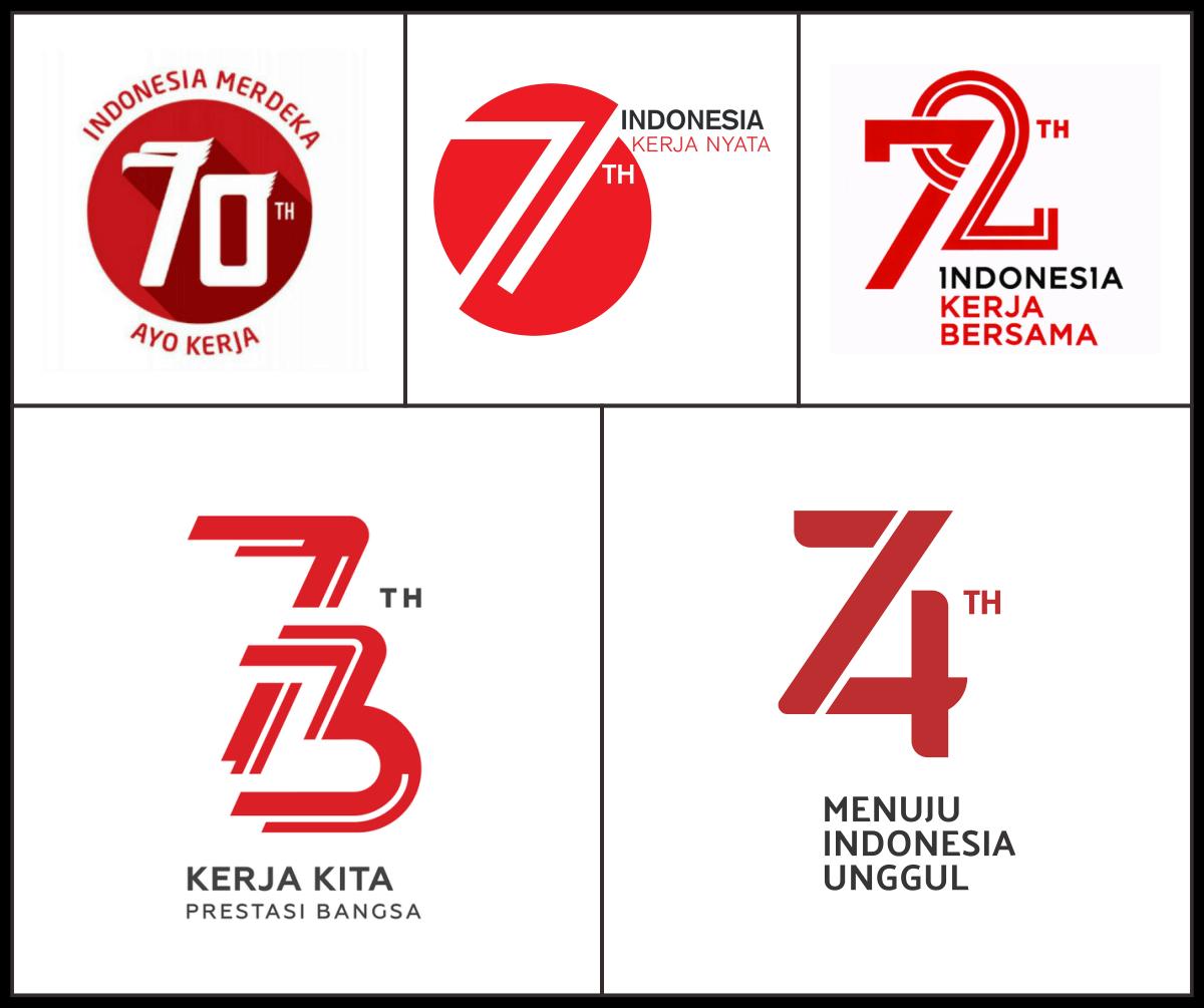 [Tanpa Iklan] Download Logo HUT RI Ke-74 Vector CDR, AI EPS dan PNG