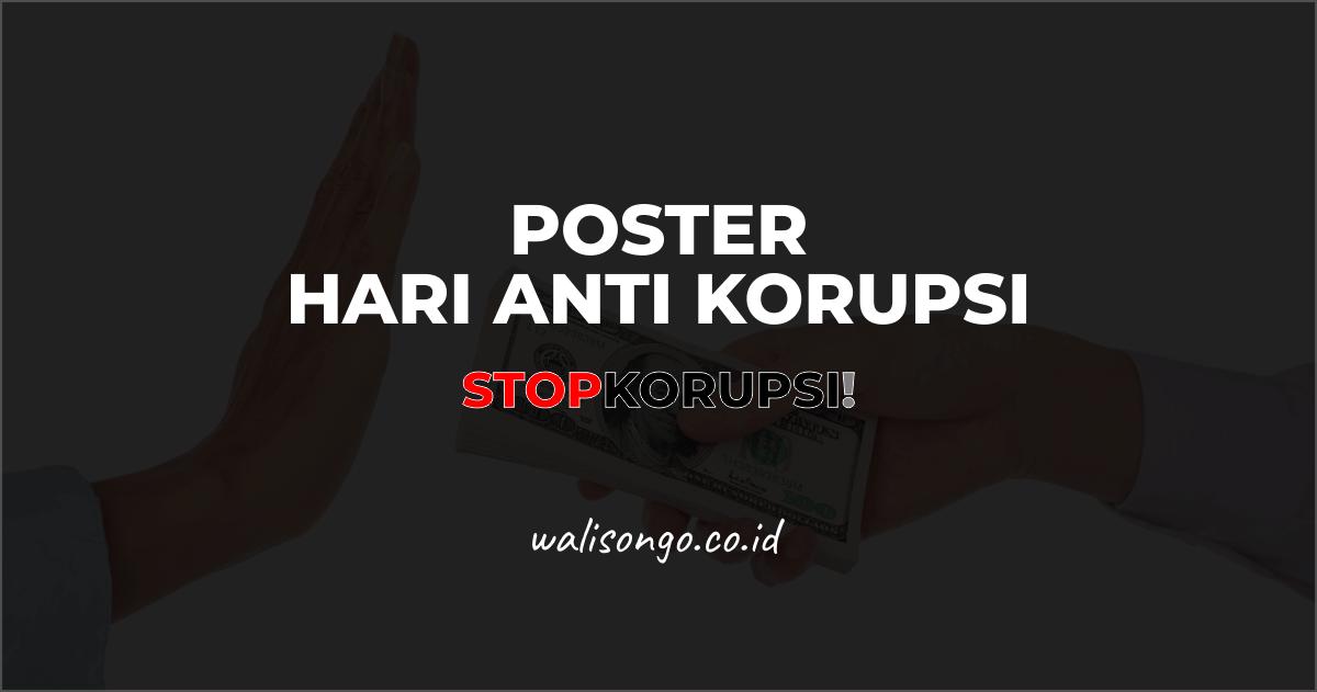 poster hari anti korupsi