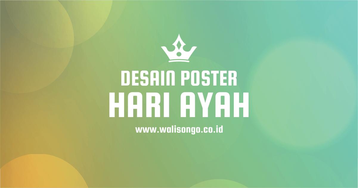 desain poster hari ayah