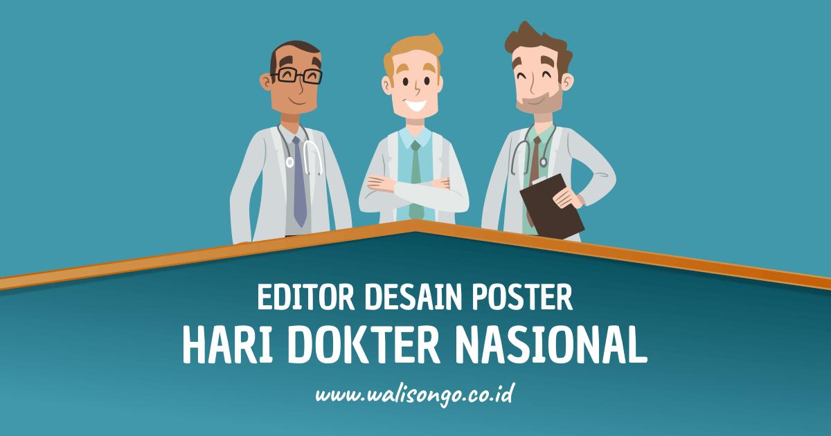 desain poster hari dokter