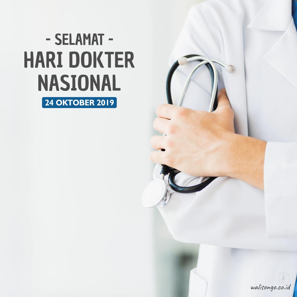 desain poster hari dokter nasional