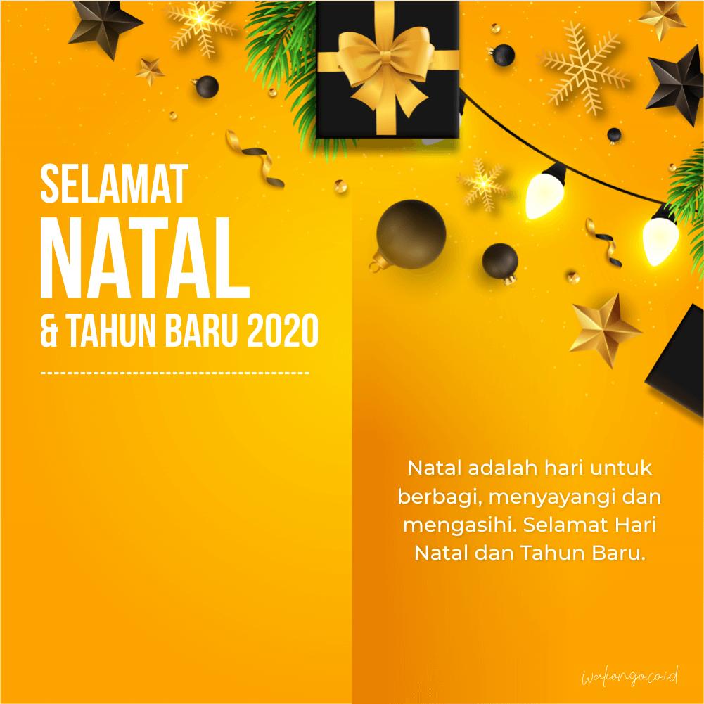 poster hari natal keren