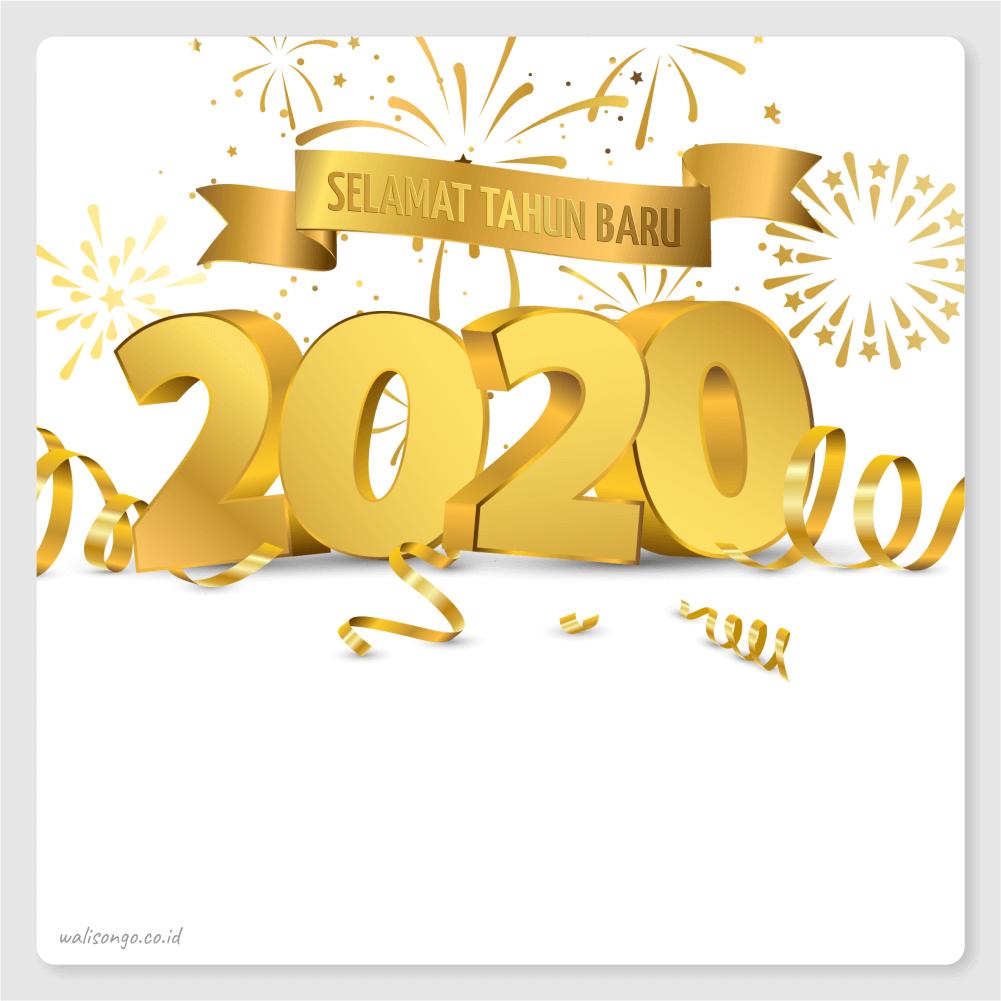 poster tahun baru 2020