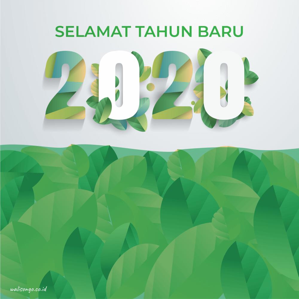 poster tahun baru 2020 unik