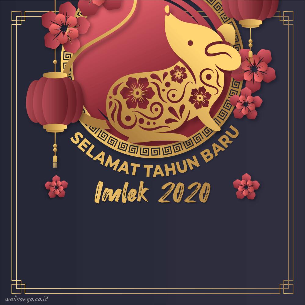 poster tahun baru imlek 2020