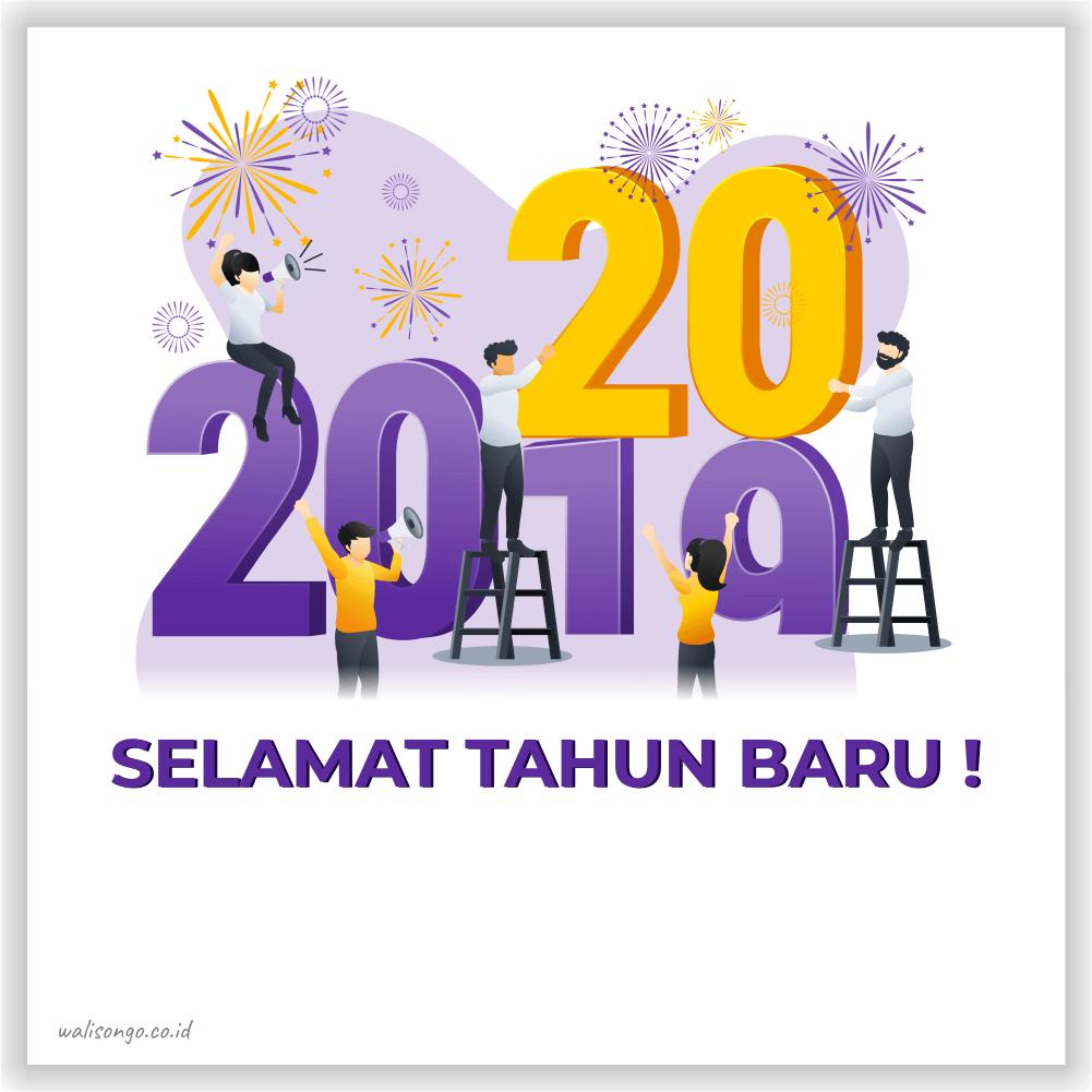 poster tahun baru keren