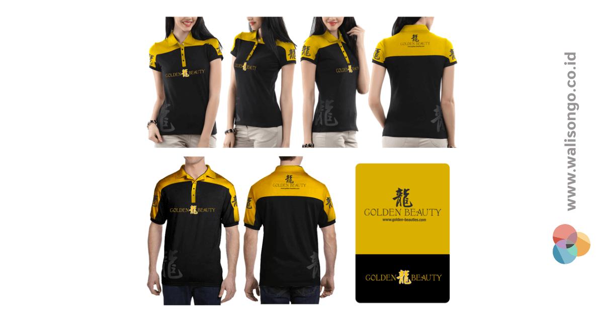seragam kantor kuning