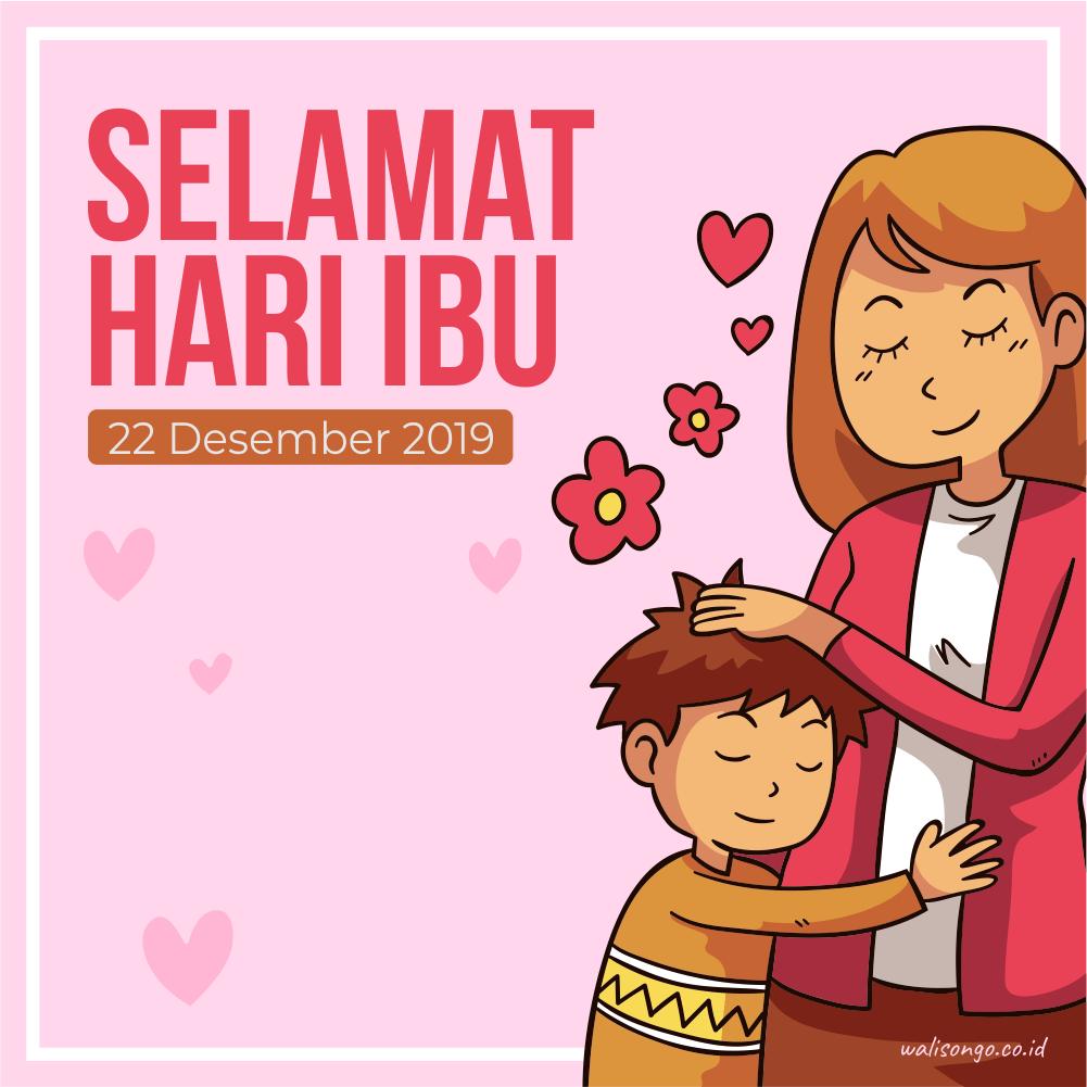 Desain Poster Selamat Hari Ibu Anggun Dan Elegan