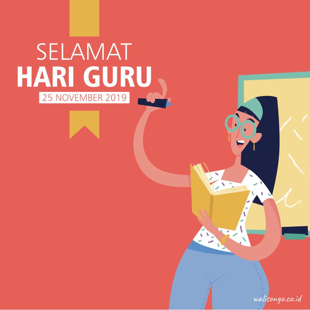 Desain Poster Hari Guru Nasional Keren Banget!