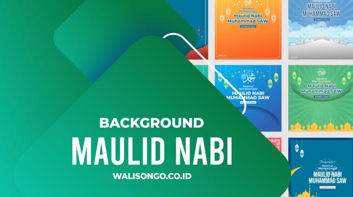 background maulid nabi