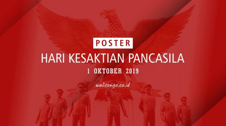 poster hari kesaktian pancasila