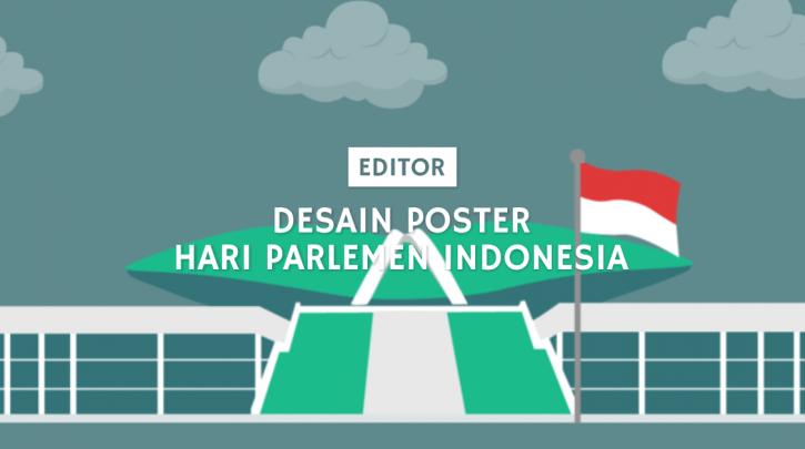 poster hari parlemen indonesia
