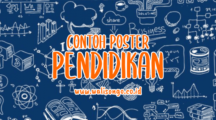 25 Desain Gambar Poster Pendidikan Terbaru 2020 Keren Free Download