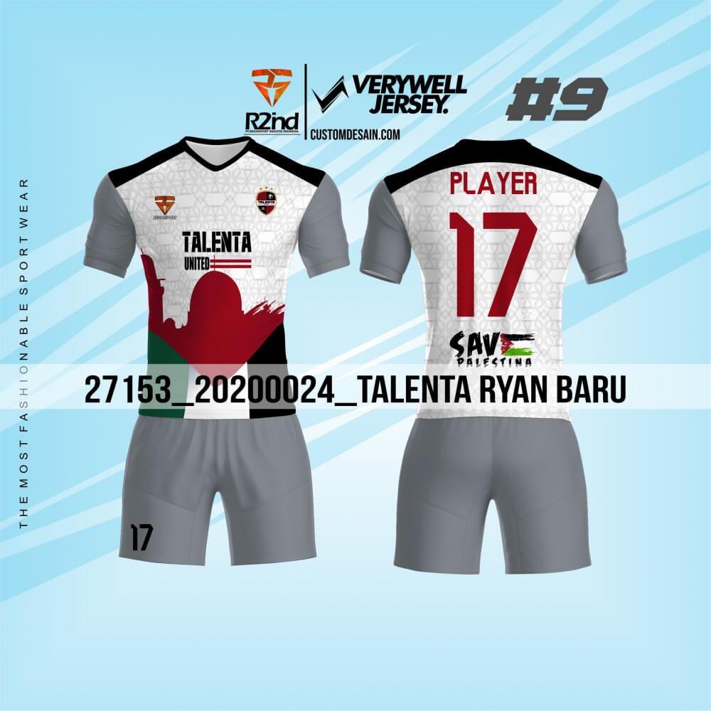 desain jersey futsal putih