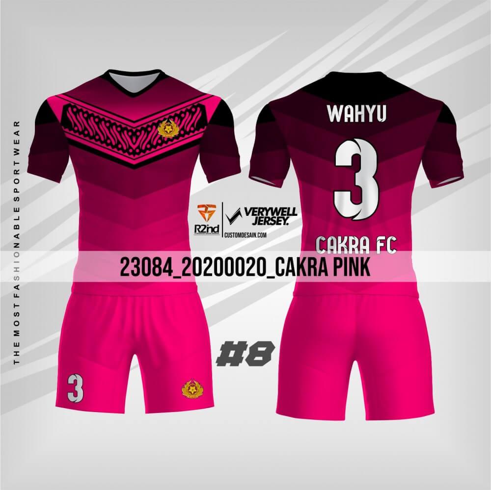 Kaos futsal pink