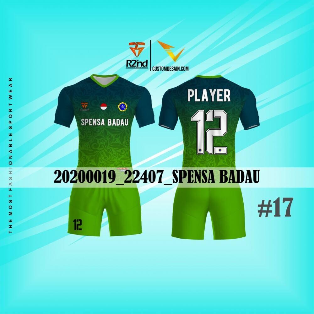 jersey futsal hijau