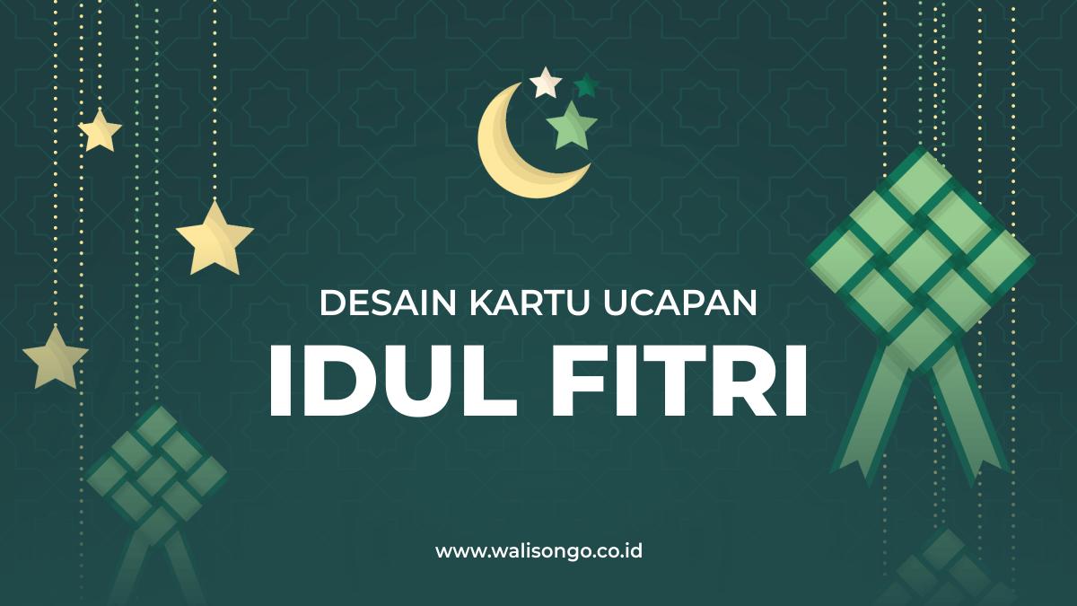 Kartu Ucapan Idul Fitri 1441 H, Desain Background Elegan Untuk