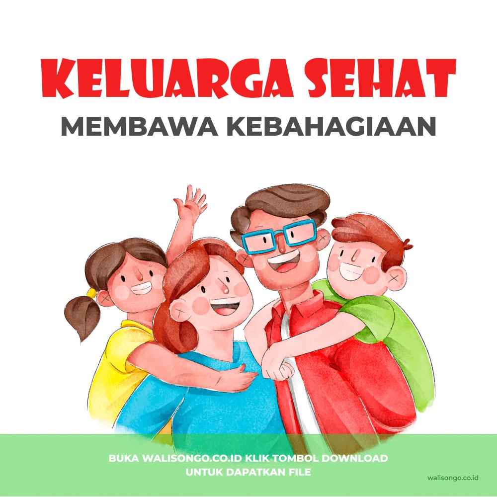 poster keluarga sehat