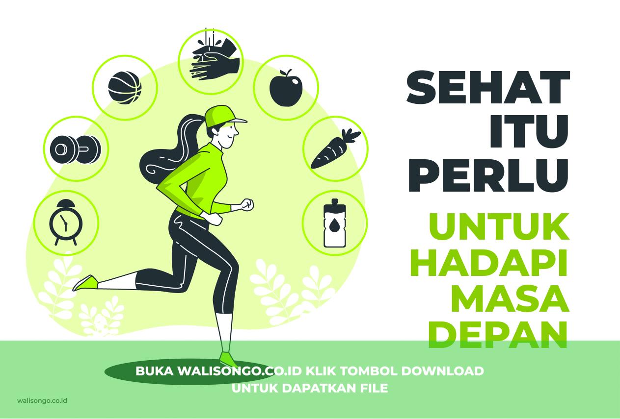 25 Desain / Gambar Poster Kesehatan, Contoh yang Keren Abis!
