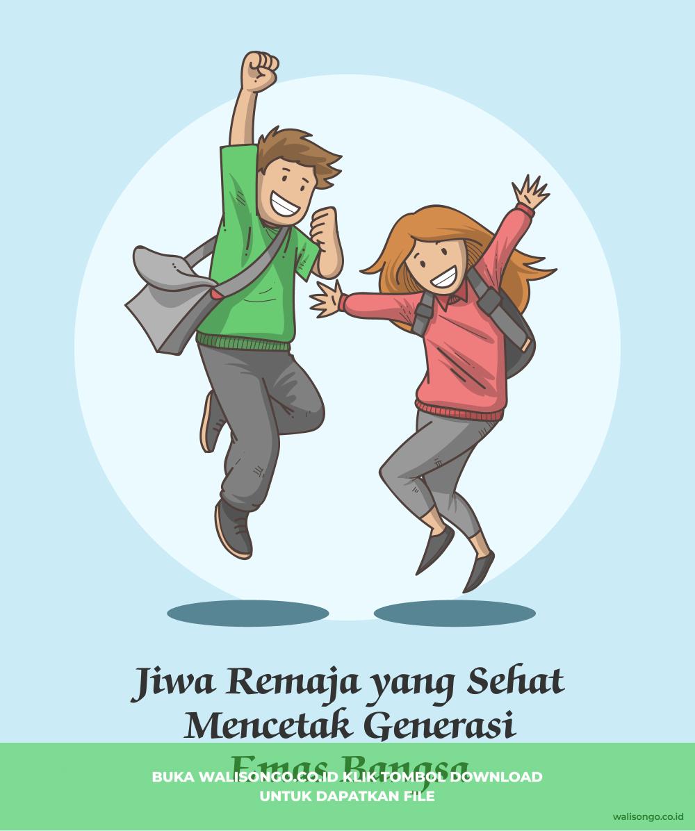 poster kesehatan remaja