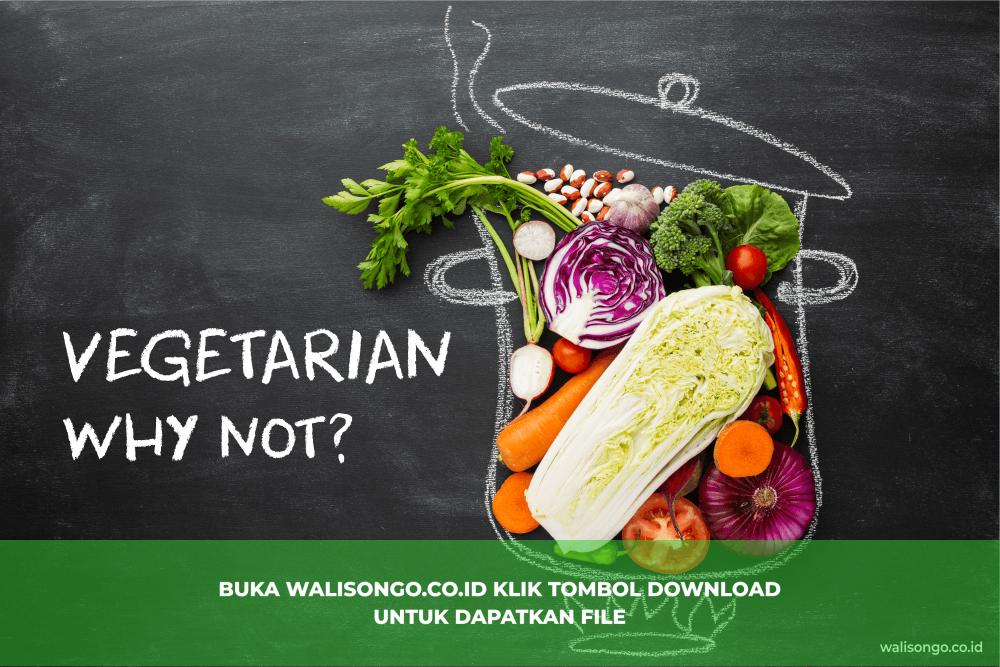 poster vegetarian