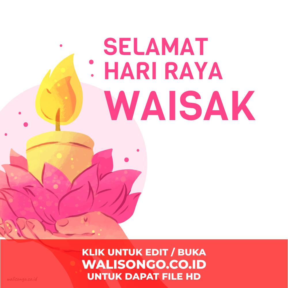 Desain Poster Hari Raya Waisak 2020 / 2564, Background