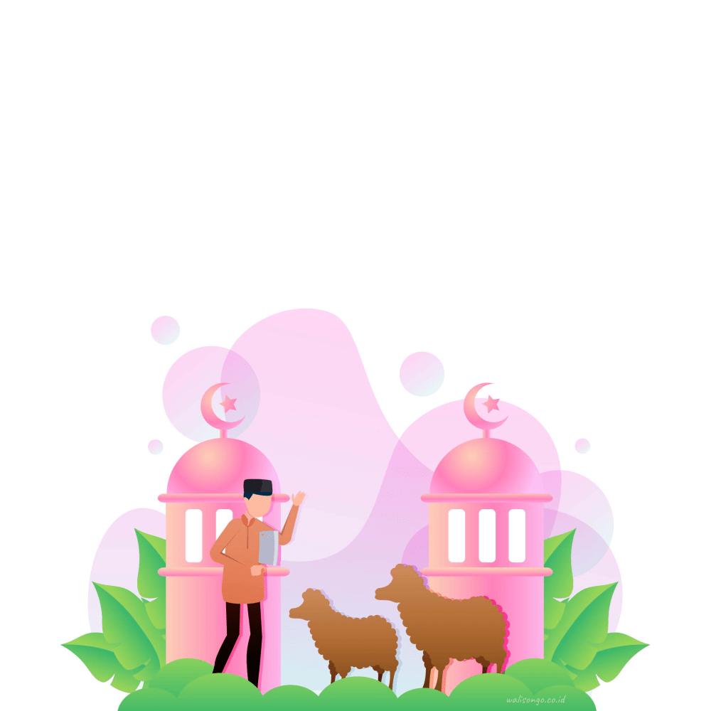 Kartu Ucapan Idul Adha 1441 H, Desain Background 2020!